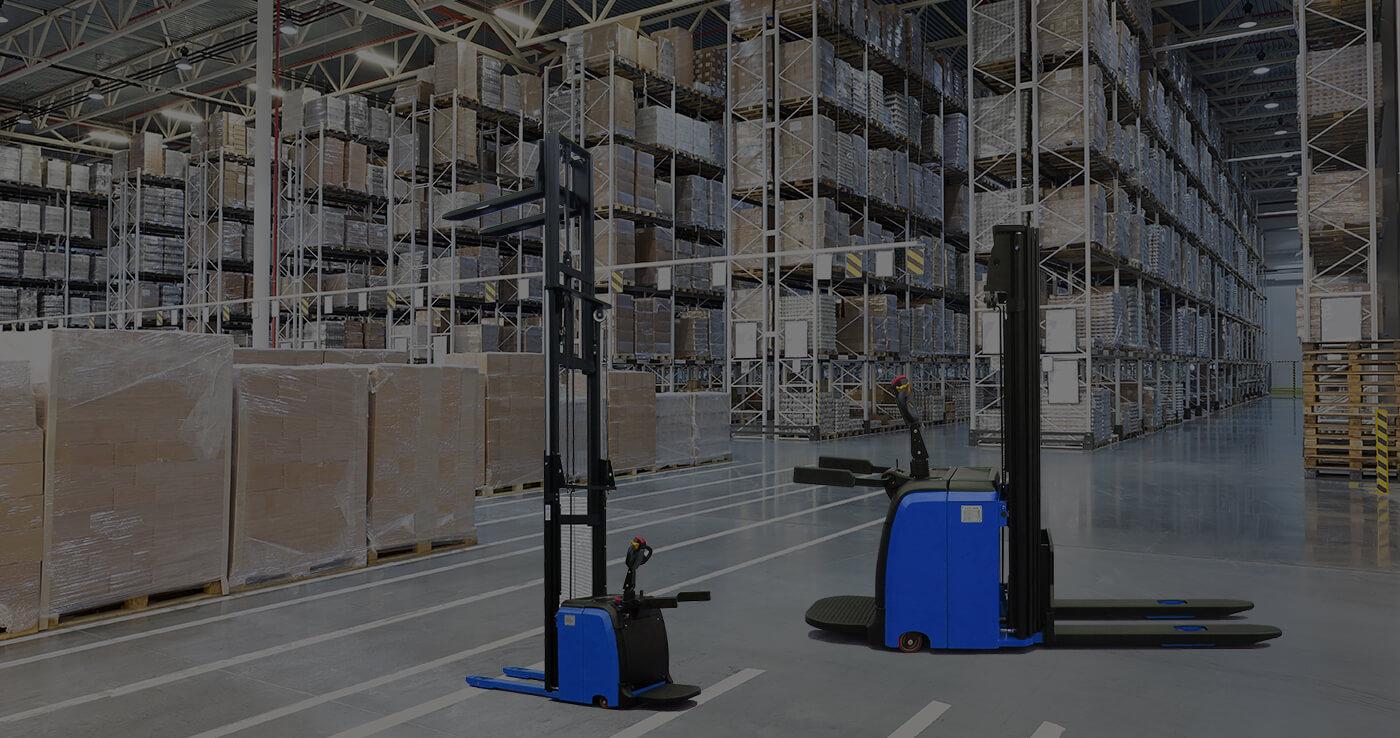 Över 20 års erfarenhet av materialhanteringsutrustning